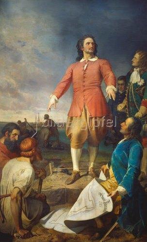Alexander von Kotzebue: Peter der Große gründet Petersburg.