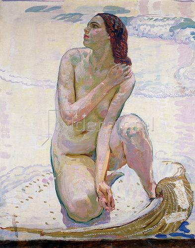 Erich Kuithan: Venus in der Muschel 1912