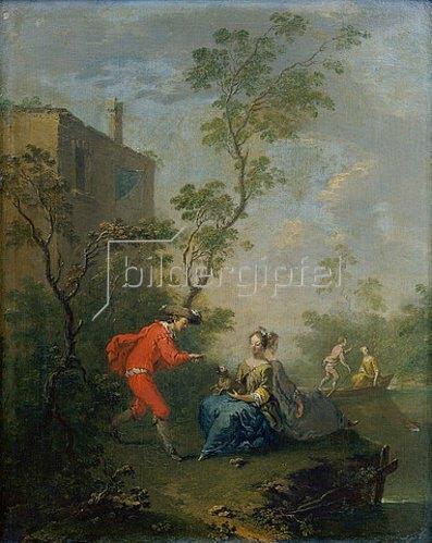 Norbert Grund: Der Versucher. Nach 1760