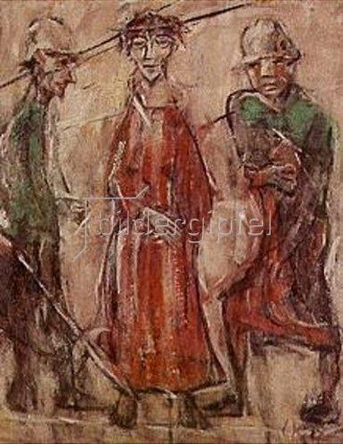 Christian Rohlfs: Ecce Homo. 1922.