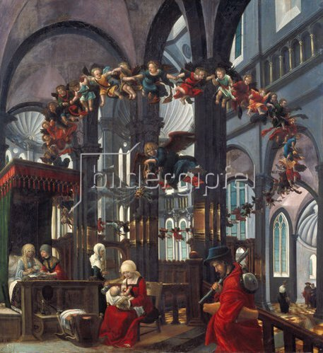 Albrecht Altdorfer: Geburt Mariae. Um 1520.