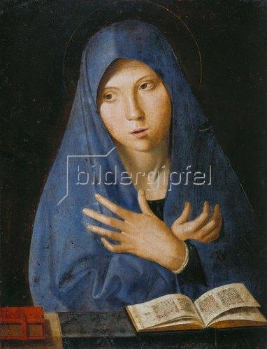 Antonello da Messina: Maria der Verkündigung.