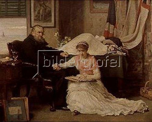 Sir John Everett Millais: Die Nordwestpassage, 1874.