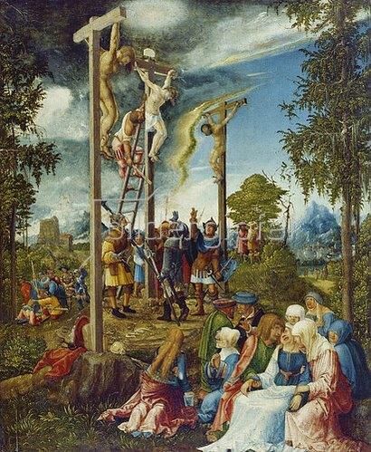 Albrecht Altdorfer: Kalvarienberg. 1526