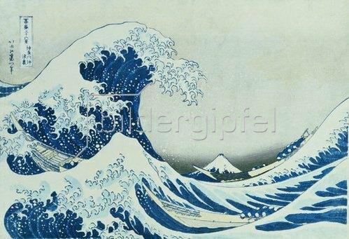 Katsushika Hokusai: Die grosse Welle von Kanagawa. 1831.