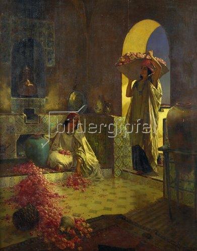 Rudolph Ernst: Rosenernte.