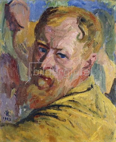 Giovanni Giacometti: Selbstbildnis. 1923