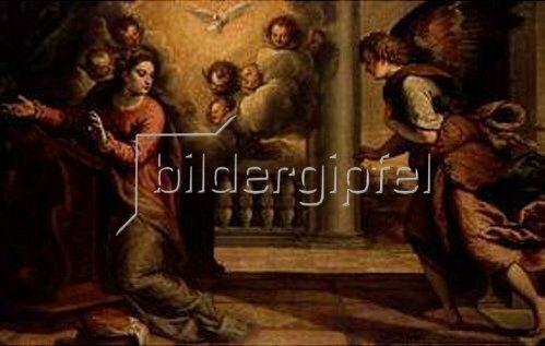Palma il Giovane eigentlich Negretti Jacopo: Verkündigung Mariae.