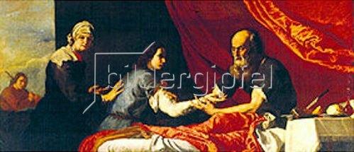 Jusepe de Ribera: Isaac und Jakob.
