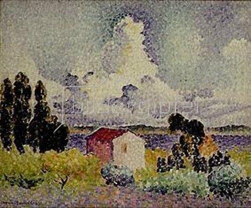 Henri Edmond Cross: Die Wolke. 1904.