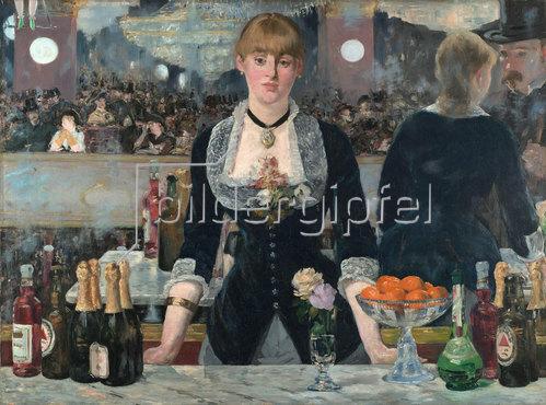 Edouard Manet: Bar in den Folies-Bergère. 1881-82
