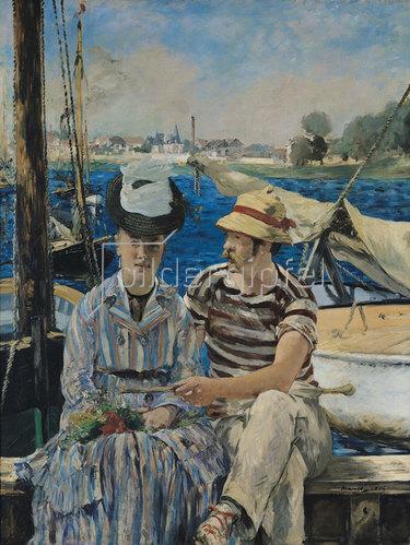 Edouard Manet: Argenteuil. 1874