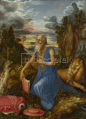 Albrecht Dürer: Der heilige Hieronymus. Um 1496