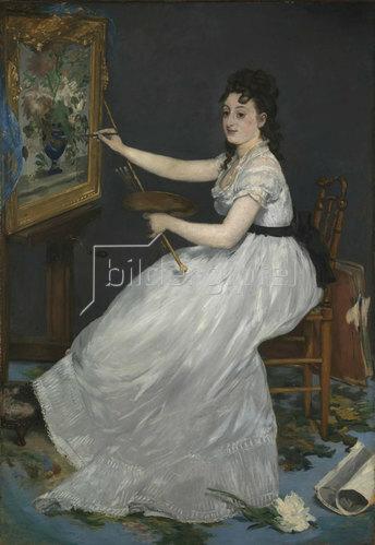 Edouard Manet: Eva Gonzalès. 1870
