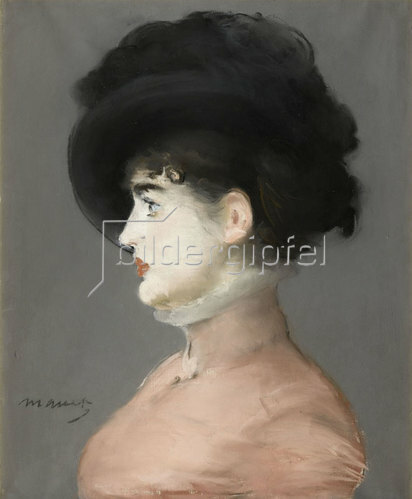 Edouard Manet: Porträt von Irma Brunner. Um 1880-82