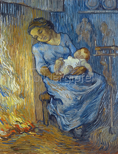Vincent van Gogh: L'homme est en mer 1889