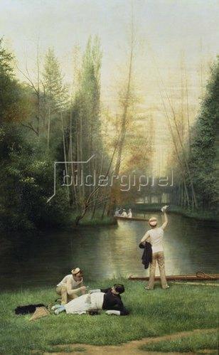 Georges Croegaert: Liebelei. 1885.