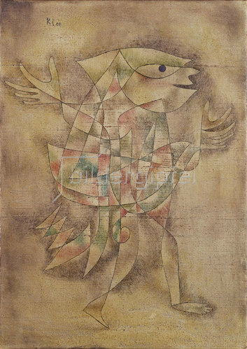 Paul Klee: Narr in Trance. 1929
