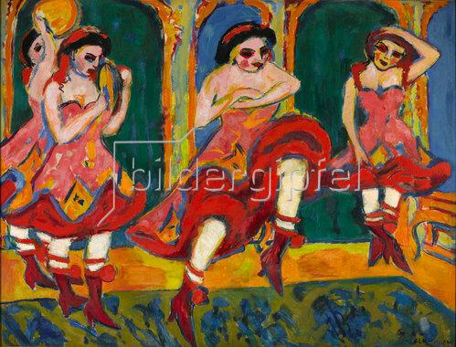 Ernst Ludwig Kirchner: Czardastänzerinnen. 1908-20