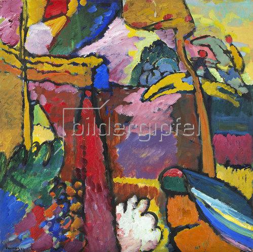Wassily Kandinsky: Studie für Improvisation V. 1910