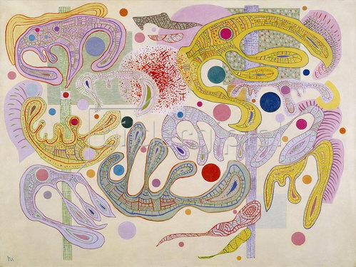 Wassily Kandinsky: Launische Formen (Formes capricieuses). 1937