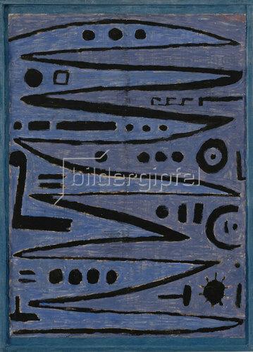 Paul Klee: Heroische Bogenstriche. 1938