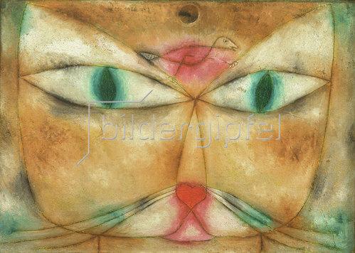 Paul Klee: Katze und Vogel. 1928