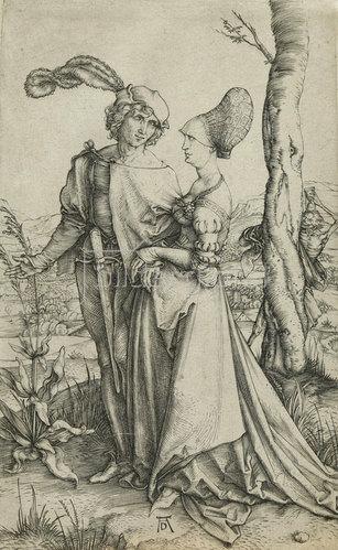 Albrecht Dürer: Der Spaziergang. 1522
