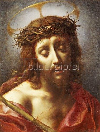 Carlo Dolci: Christus als Schmerzensmann.
