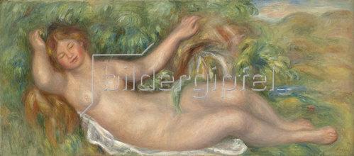 Auguste Renoir: Liegender Akt, die Quelle (La source). Um 1902