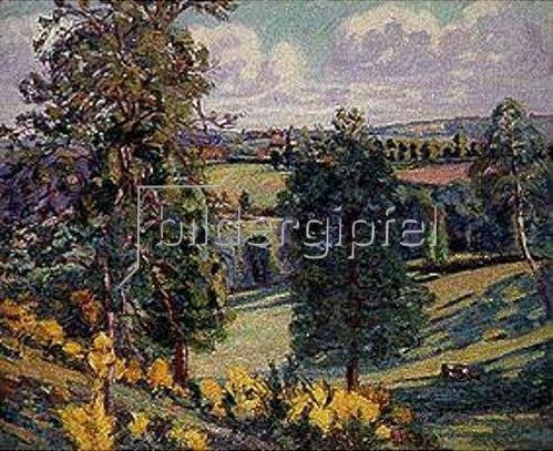 Jean-Baptiste Armand Guillaumin: Bäume und Viehweide. 1897.