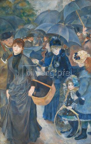 Auguste Renoir: Die Regenschirme. Um 1881-86