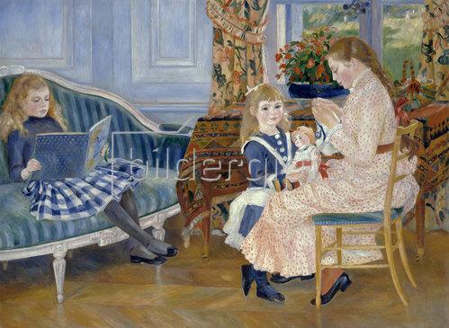 Auguste Renoir: Der Nachmittag der Kinder in Wargemont. 1884