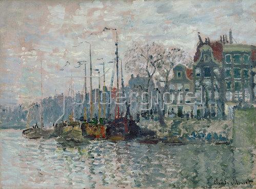 Claude Monet: Blick auf die Prins Hendrikkade