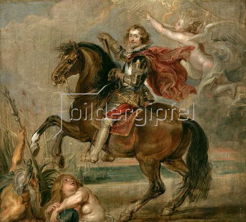 Peter Paul Rubens: Porträt von Duke of Buckingham zu Pferde. 1625