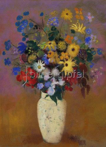 Odilon Redon: Blumen in einer Vase. Um 1912-14
