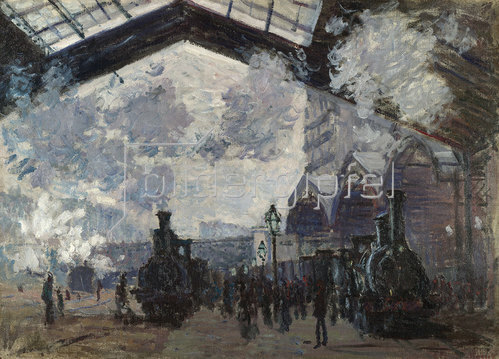 Claude Monet: Gare Saint Lazare