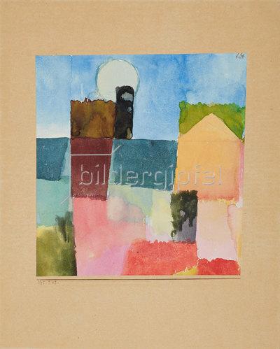 Paul Klee: Mondaufgang (St. Germain). 1915/242