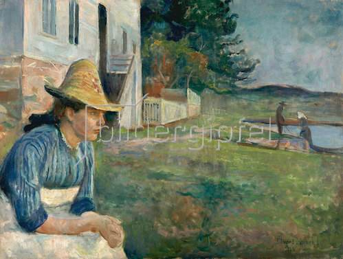 Edvard Munch: Abend 1888
