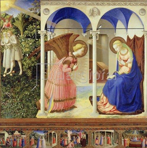 Fra Angelico: Die Verkündigung Mariae.
