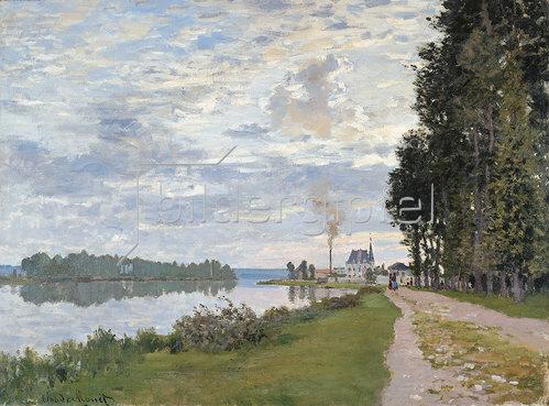 Claude Monet: Die Uferpromenade bei Argenteuil