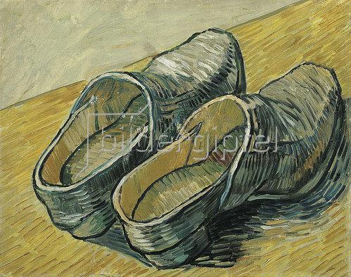 Vincent van Gogh: Ein Paar Lederclogs