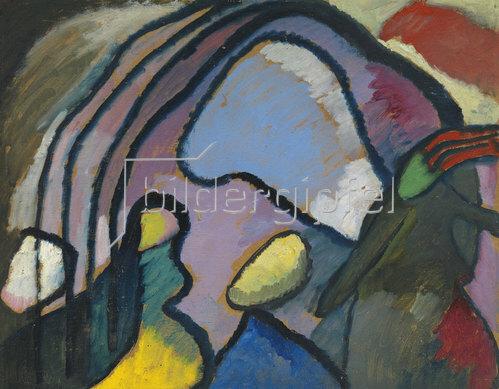 Wassily Kandinsky: Studie für Improvisation 10. 1910