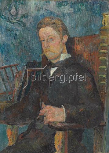 Paul Gauguin: Portrait eines Mannes. 1884