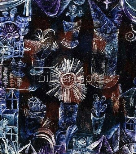 Paul Klee: Stilleben mit der Distelblüte. 1919.