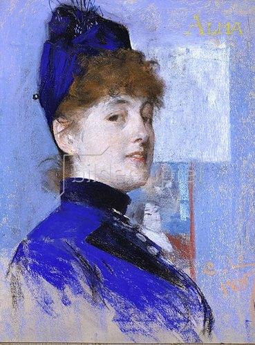 Carl Larsson: Alma. 1887.