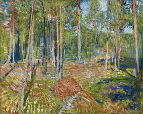 Edvard Munch: Kiefernwald