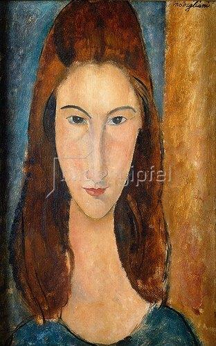 Amadeo Modigliani: Jeanne Hebuterne.