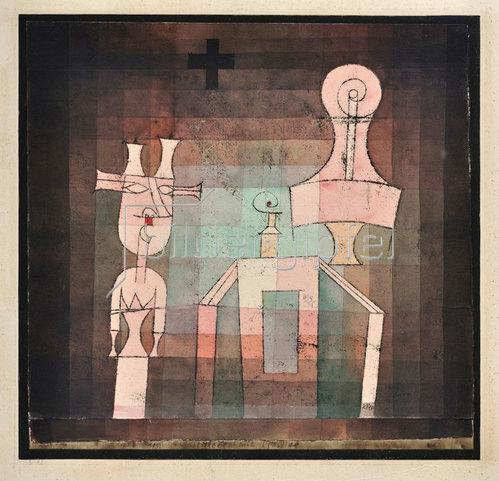 Paul Klee: Stillleben mit Plastiken. 1923