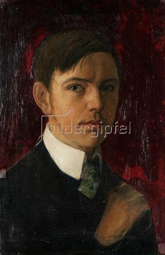 August Macke: Selbstbildnis. 1906